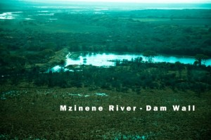 Mzinene River Dam Wall